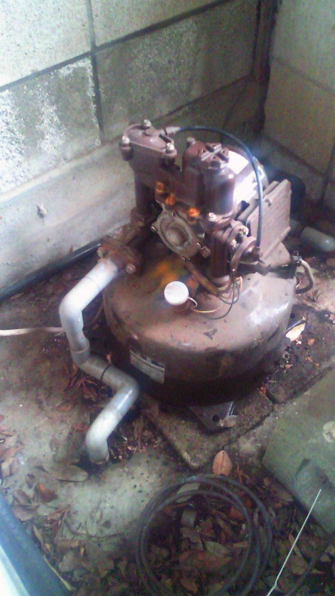 井戸ポンプ交換工事